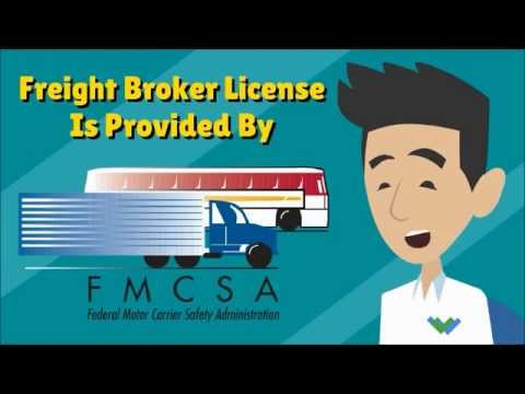 How to Get Your Freight Broker License - YouTube