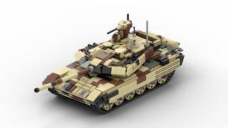 LEGO T-90 M Tank   Minifigure Scale 2018