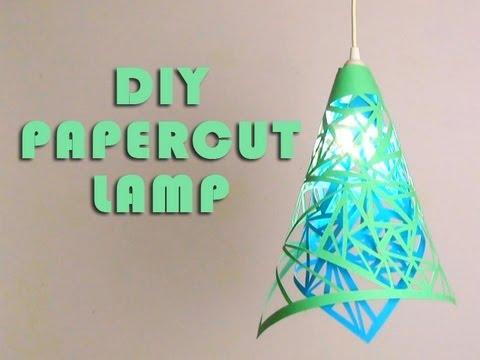 DIY / Gør det selv lampeskærm