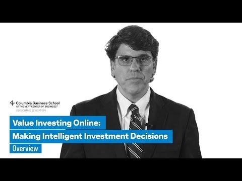 Value Investing (Online) Program: Overview