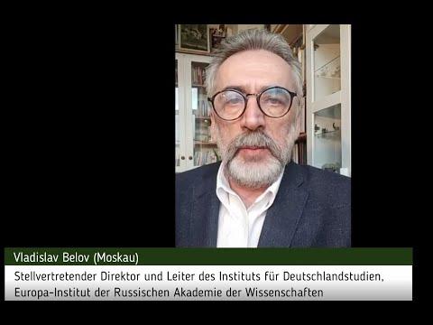 Vladislav Belov, Stellvertretender Direktor und Leiter des Instituts für Deutschlandstudien