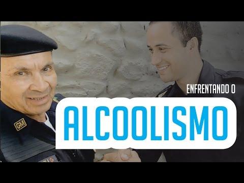 Carregar de livros contra o alcoolismo