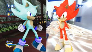 Sonic Generations MODs: Fire  Ice (Super)  Unleashed Project