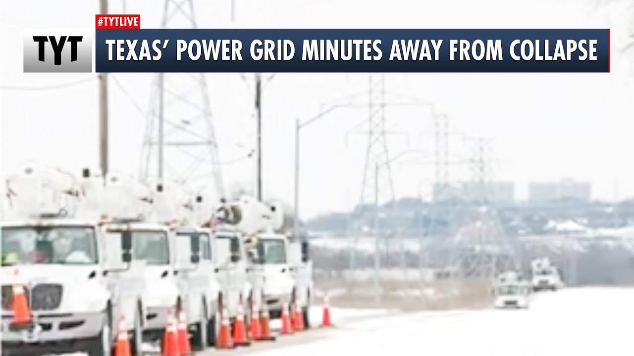 Texas' Power Grid Was MINUTES Away From Total Collapse thumbnail