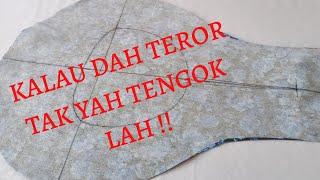 CARA BUAT LAPIK LEHER BAJU KURUNG | MASZ HASHIM