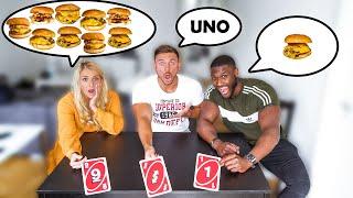 UNO Karten Bestimmen Unser Essen für 1 Tag (Teil 2)