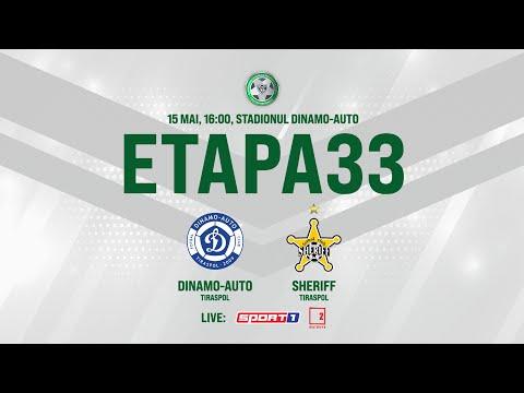 LIVE: DIVIZIA NAȚIONALĂ,Etapa 33 ,FC DINAMO-AUTO  - FC SHERIFF 15.05.2021, 16:00