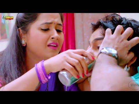 Pawan Singh ko Aagya Chakkar Kajal Ragwani ne pilaya Pani Full HD Movie Scene | wwr