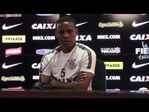 Lado torcedor motiva Elias contra o São Paulo