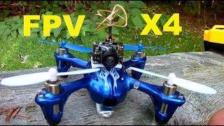 Hubsan x4 H107C 5.8 Ghz Fpv WHOOP AKK AIO Jumper T8SG PLUS Review