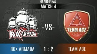 ROX ARMADA Vs TEAM ACE - Game 4 | VPL EA Championship - Grand Finals