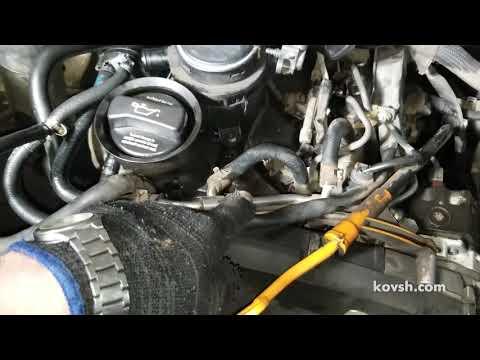 Фото к видео: Мудрённая система топливоподачи на Volkswagen Crafter Common Rail 2.5TDI, BJL