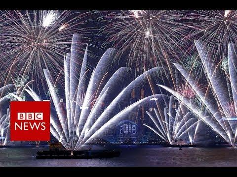 New Year 2018: Hong Kong's celebration- BBC News
