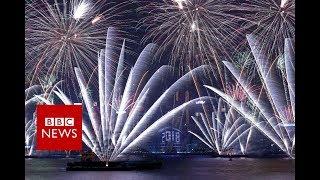 New Year 2018: Hong Kong