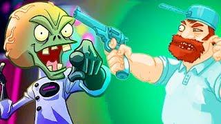 Галактическое Обновление Игра Зомби против Растений  Герои от Фаника Plants vs zombies Heroes 41