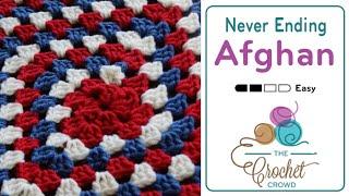 Crochet Granny Spiral Blanket