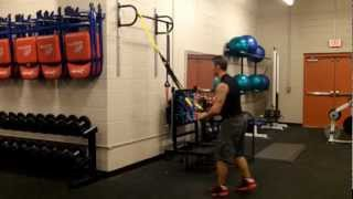 25 Minute TRX Suspension Training Total Body Workout: Intermediate TRX workout by Caseytats