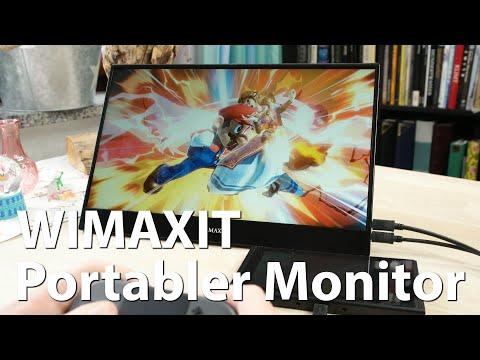 Portabler 15,6 Zoll Touchscreen-Monitor von WIMAXIT im Test - Dual-Monitor-Setups für unterwegs?