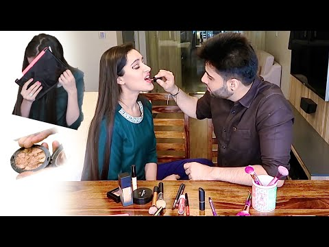 🤯 HUSBAND DOES MY MAKEUP *GONE FREAKISH* | That Glam Girl