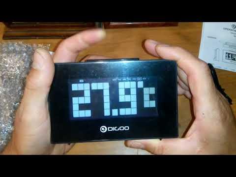 Электронный цифровой будильник Digoo DG-C9