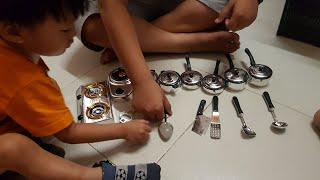 Bộ Đồ Chơi Nhà Bếp Cho Bé Tập Nấu Ăn, Bé Tập Làm Bếp  Kitchen Toys