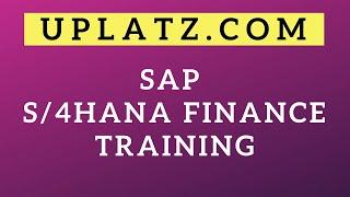 SAP S/4HANA Finance Training