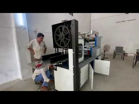 Automatic Double Embossing With Double Printing