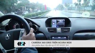Giới thiệu Hệ thống Camera 360 ORIS toàn cảnh cho xe hơi