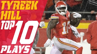 Tyreek Hill's Top 10 Plays of the 2016 Season | NFL Highlights