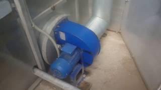 отопление теплицы 500 м2 ( огурец на 35 день после посева )