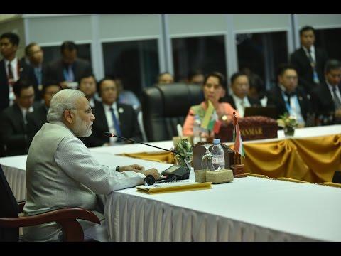 PM Modi's Speech at the 14th Asean-India Summit in Vientiane, Laos