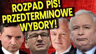 Rozpad PIS! Będą Przedterminowe Wybory! Rozwiązanie Sejmu! Q&A Ator Komentator Analiza Finanse Bank