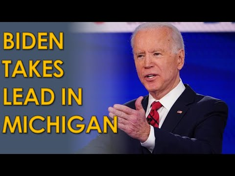 Joe Biden TAKES LEAD in Michigan; Has path to 2020 Election victory WITHOUT Pennsylvania
