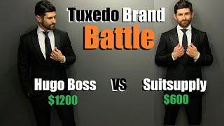 Tuxedo Brand Battle| Hugo Boss VS Suitsupply | Which Brand Is Better (IMO)?