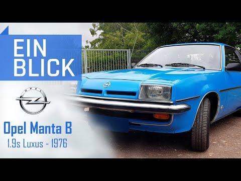 Opel Manta 1.9s Luxus 1976 - DAS deutsche Kult-Coupé? Vorstellung, Test & Kaufberatung