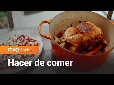 Cómo hacer Pollo en cocotte - Hacer de comer | RTVE Cocina