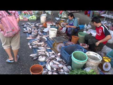 ตลาดเช้าเชียงราย Chiangrai morning market