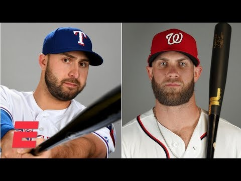 Joey Gallo: I protected Bryce Harper in our 8-year-old baseball team's lineup   MLB on ESPN
