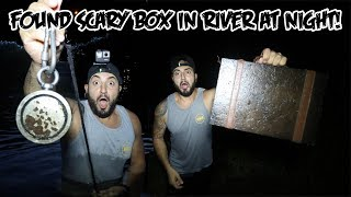 I USED A GIANT MAGNET AT THE HAUNTED ANNABELLE MILL! GONE WRONG