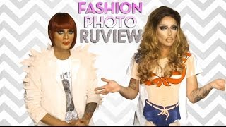 RuPaul's Drag Race Fashion Photo RuView with Raja and Raven - Episode 4