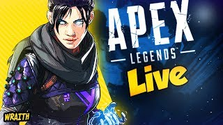 APEX LEGENDS| WE GOT WRAiTH'S KNiFE!!!  PC WiTH A CONTROLLER!!!  @SPEROS_OG on iNSTA/TWiTTER