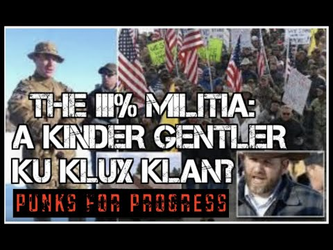 The III% Militia: A Kinder Gentler Klan?
