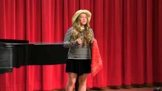Rena sings Vieni Sul Mar