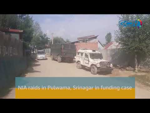 NIA raids in Pulwama, Srinagar in funding case