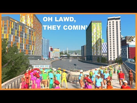 Here Comes The Tourists | Cities Skylines