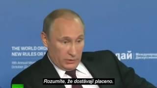 Putin - Jak USA podporuje Islámský stát