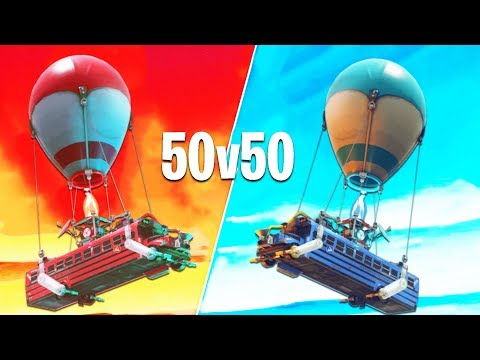 FORTNITE'S NEW 50v50: FAILURE OR SUCCESS? (u might be surprised)