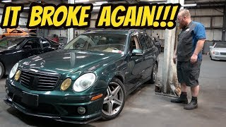 Here's Everything That's Broken on the Cheapest Mercedes E63 AMG Wagon in the USA