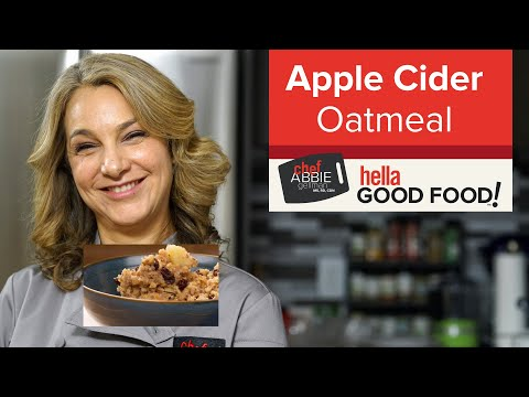 Apple Oatmeal with Cider