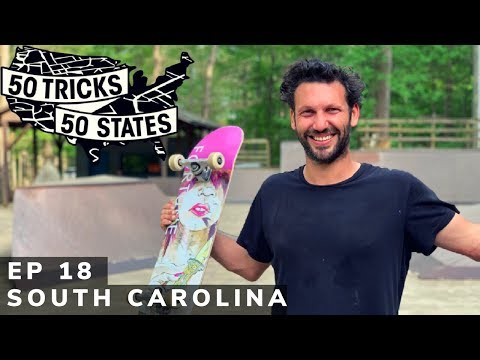 50 Tricks 50 States Skateboarding Challenge | Episode #18 | South Carolina